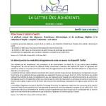 Newsletter janvier 2014